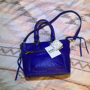 Aimee Kestenberg royal blue medium handbag